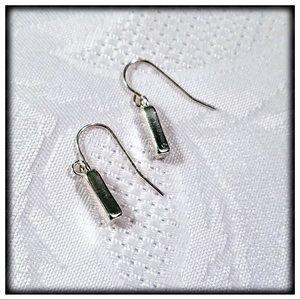 Sterling Silver Geometric Shapped Earrings